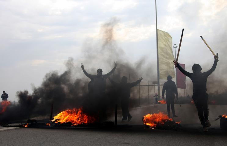 Столкновения между суннитами и полицейскими в Ираке
