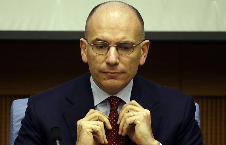 Премьер-министр Италии Энрико Летта