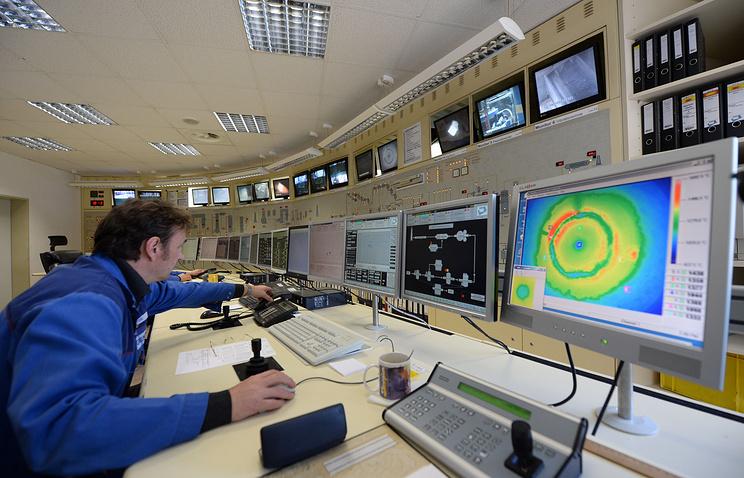 В диспетчерской предприятия ГЕКА (GEKA), которое займется утилизацией опасных веществ