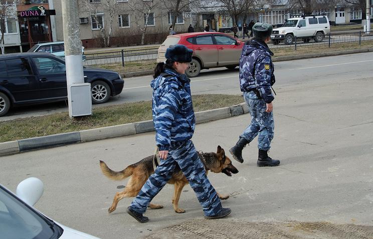 Сотрудники правоохранительных органов Ставропольского края