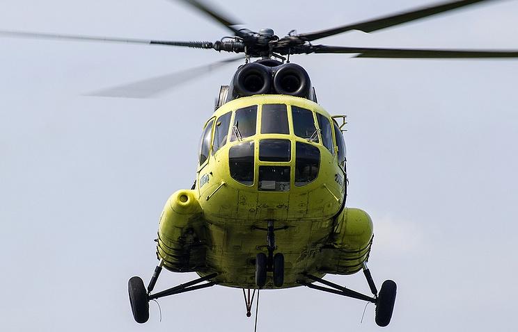 """Вертолет МИ-8 авиакомпании """"ЮТэйр"""""""