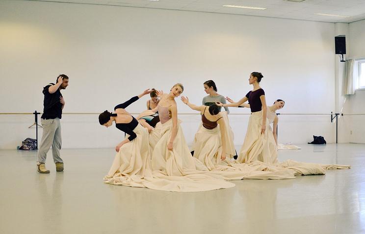 "Репетиция балета ""Ромео и Джульетта"" с Королевским балетом Фландрии"