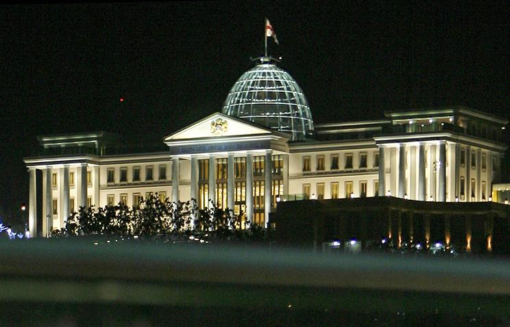 Резиденция Михаила Саакашвили в Тбилиси, 2012