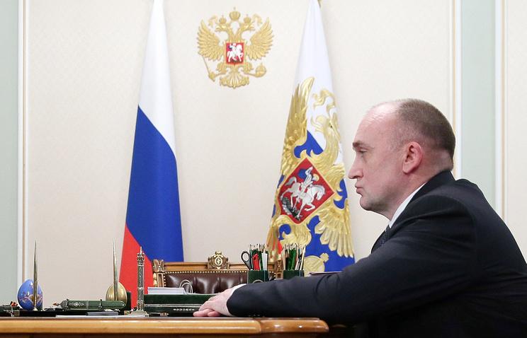 Врио губернатора Челябинской области Борис Дубровский
