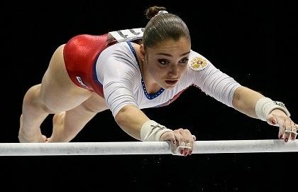 Гимнастка сборной России Алия Мустафина