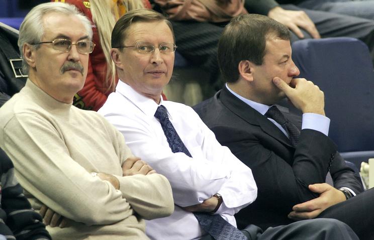 Сергей Белов, Сергей Иванов и Сергей Кущенко (слева направо)