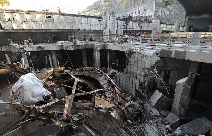 Саяно-Шушенская ГЭС, 2009