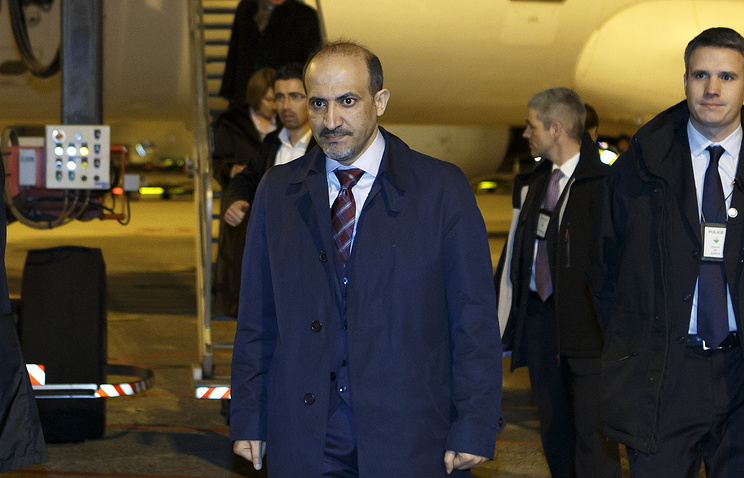 Лидер сирийской оппозиции Ахмед аль-Джарба