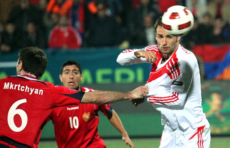 Отборочный турнир ЧЕ-2012 между сборными Армении и России