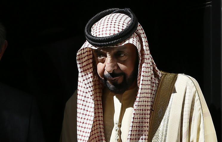 Президент ОАЭ шейх Халифа бен Заид Аль Нахайян