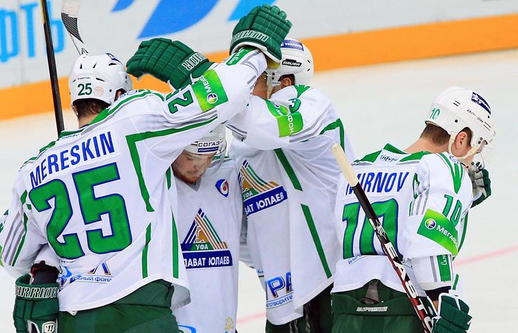 """Хоккеисты """"Салавата Юлаева"""""""