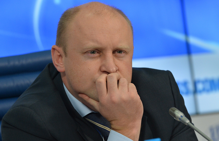 Глава Федерального агентства по делам молодежи Сергей Белоконев