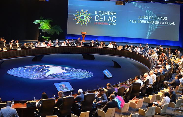 Во время второго саммита Сообщества латиноамериканских и карибских государств (СЕЛАК) в Гаване