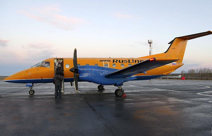 "Самолет Embraer 120 авиакомпании ""РусЛайн"""