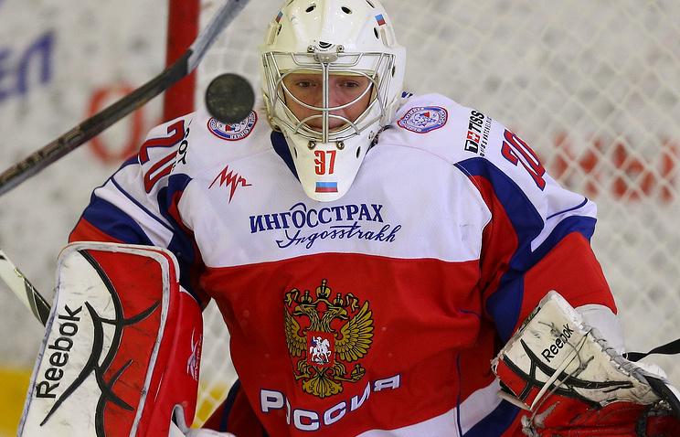 Игрок женской сборной России по хоккею Юлия Лескина