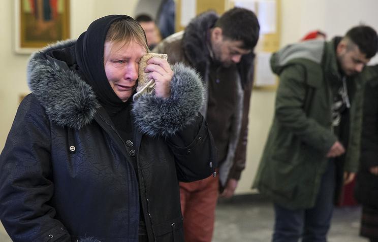 В кафедральном соборе в Южно-Сахалинске после трагедии