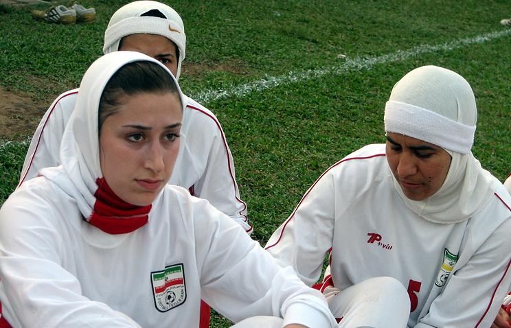 Футболистки сборной Ирана