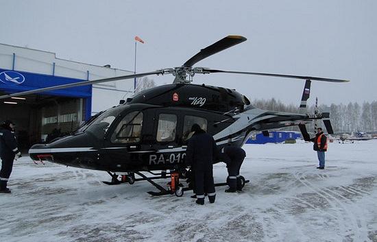 """Вертолет """"Бэлл 429"""", купленный для бывшего губернатора Челябинской области Михаила Юревича"""