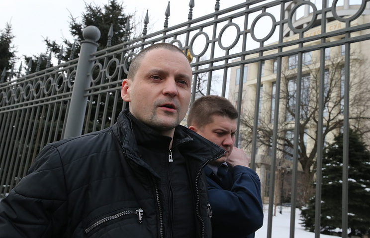 "Координатор ""Левого фронта"" Сергей Удальцов"