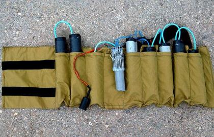 Пояс смертника. Фото из архива EPA/OLIVIER FITOUSSI