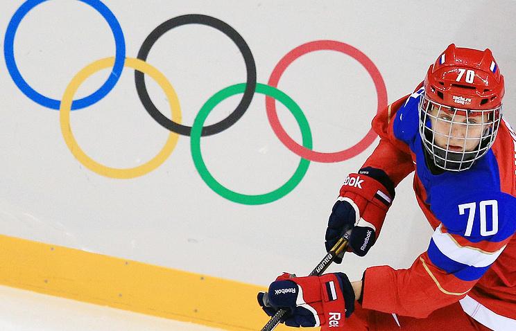 Хоккеистка сборной России Анна Шибанова