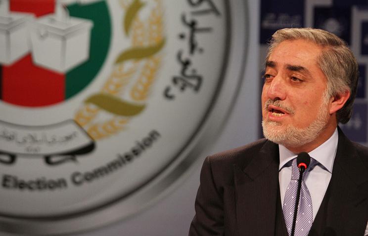 Кандидат на пост президента Афганистана Абдулла Абдулла