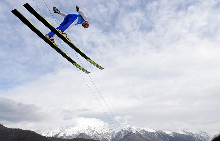 Норвежский спортсмен Хавард Клементсен