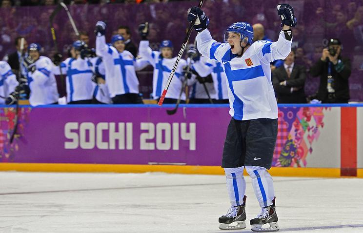 Защитник сборной Финляндии Юусо Хиетанен