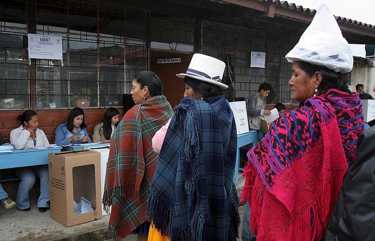 Выборы в Эквадоре, 2007 год
