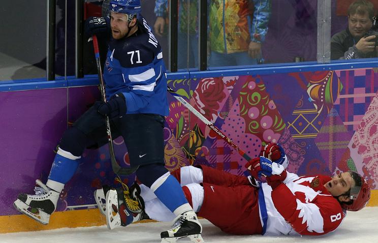Матч Россия - Финляндия в Сочи
