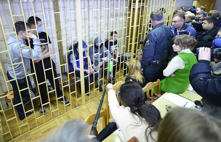 """Оглашение приговора по делу """"Приморский партизан"""" 4 февраля 2014 года, Владивосток"""
