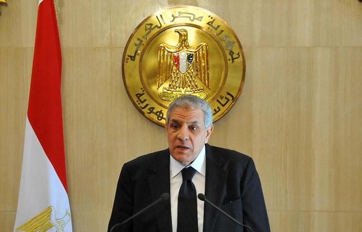 Премьер-министр Египта Ибрагим Махляб