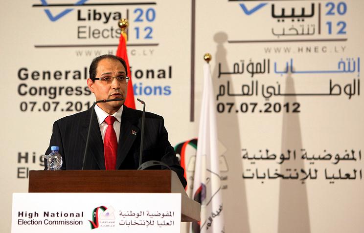 Глава центральной избирательной комиссии Ливии Нури аль-Аббар