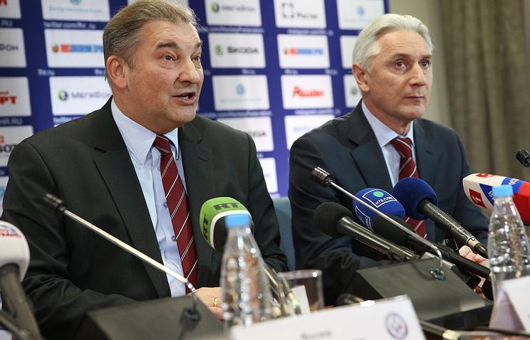 Владислав Третьяк и Зинэтула Билялетдинов