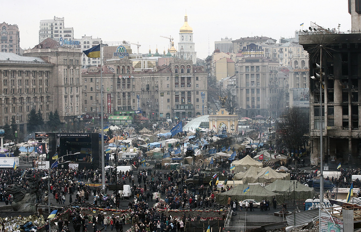 Обстановка на улицах Киева