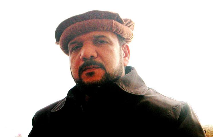 Первый вице-президент Афганистана Мохаммад Касим Фахим