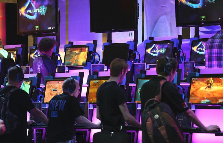 Ярмарка компьютерных видеоигр в Германии
