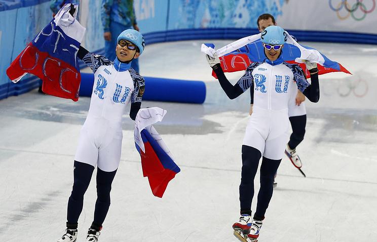 Сборная России по шорт-треку на Играх в Сочи
