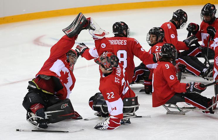 Сборная Канады по следж-хоккею