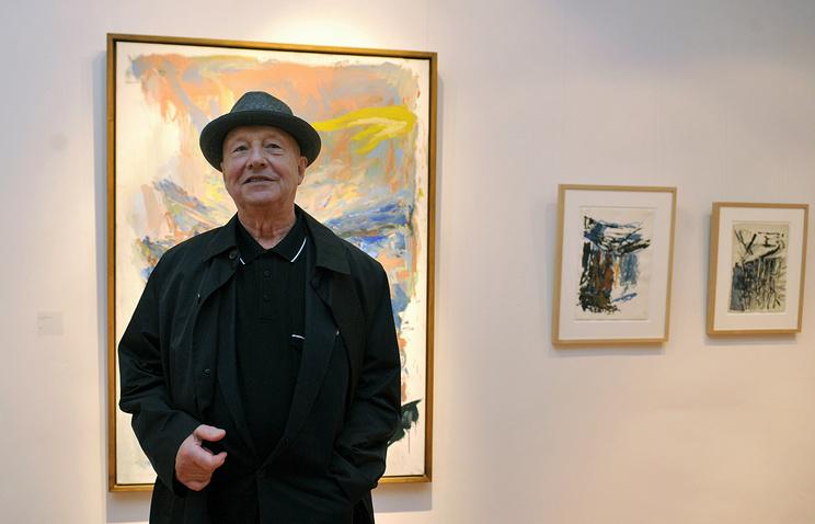 Немецкий художник Джордж Базелиц