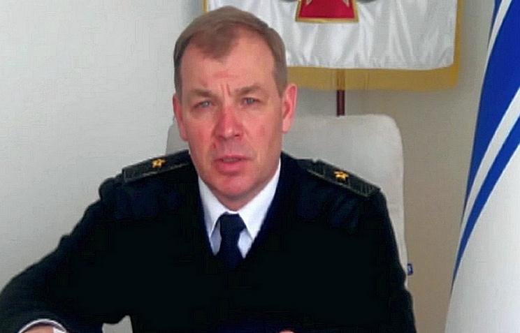 Командующий ВМС Украины Сергей Гайдук
