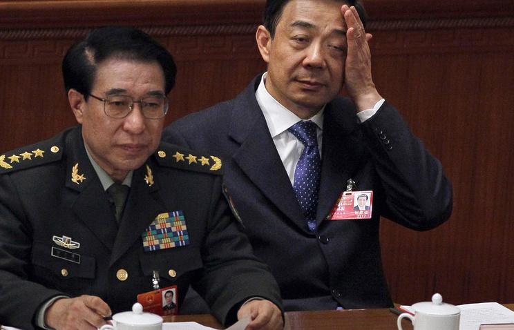 Сюй Цайхоу (слева) и Бо Силай (справа)