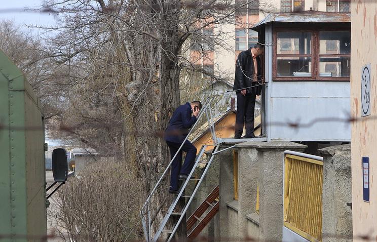Украинская военная часть, где был убит военнослужащий в результате стрельбы