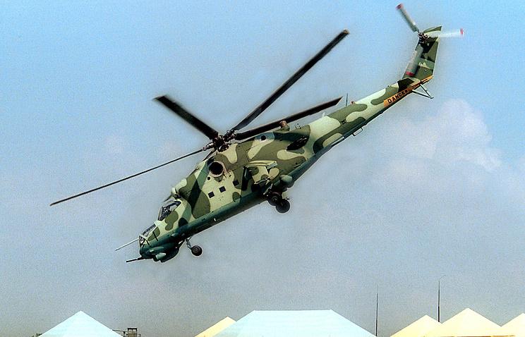Транспортно-боевой вертолёт Ми-35
