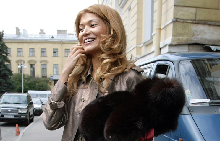 Дочь президента Узбекистана Гульнара Каримова