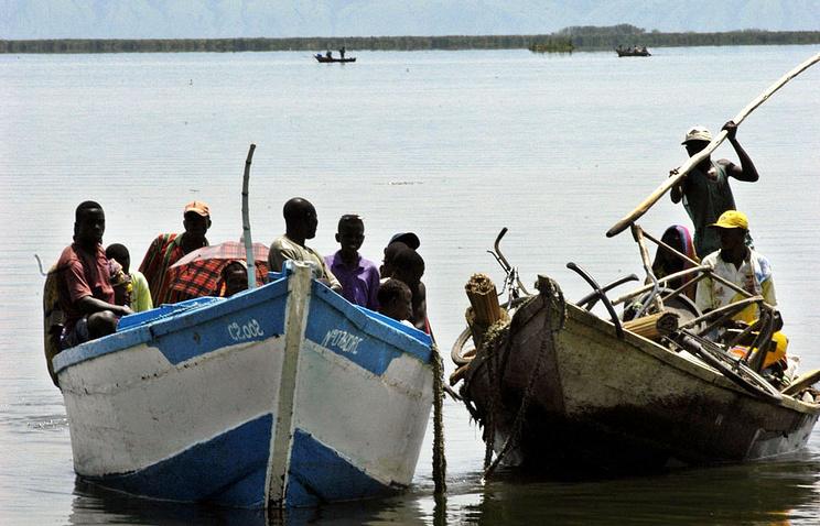 Озеро Альберт в Уганде