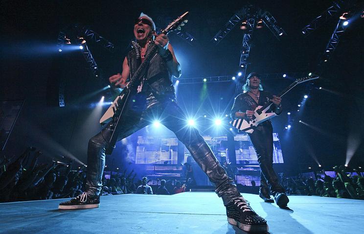 Рок-группа Scorpions