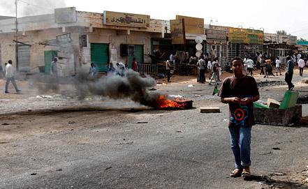 Беспорядки в Хартуме, фото EPA