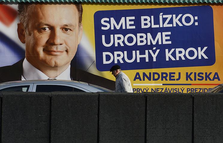Кандидат в президенты Андрей Киска