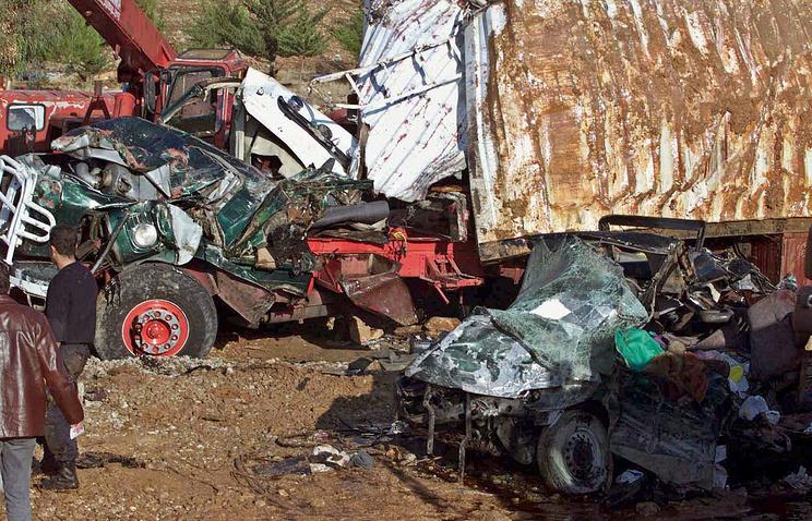 Теракт на сирийско-ливанской границе в 2004 году